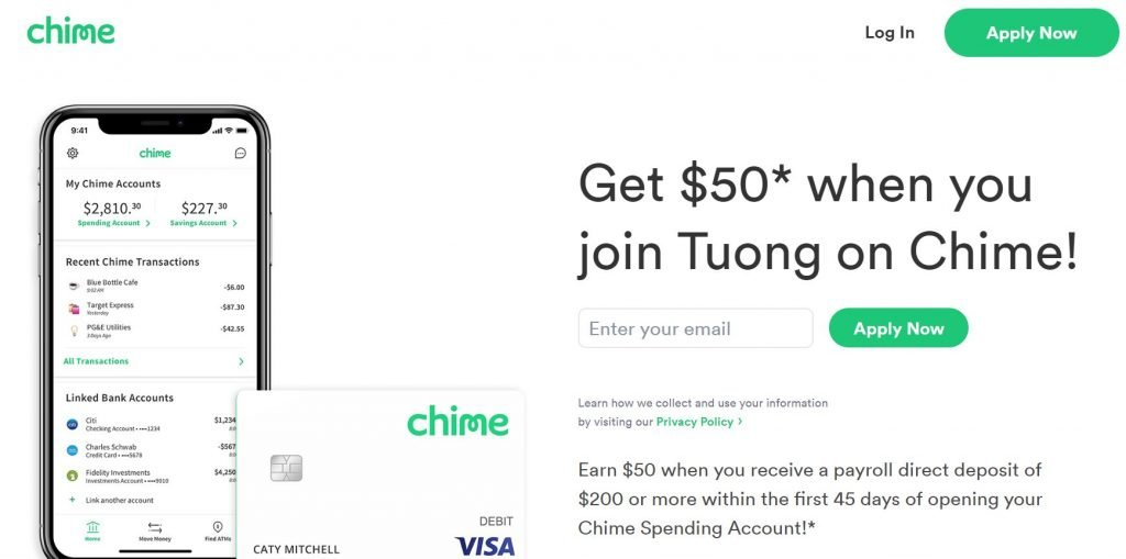 Chime Bank Referral