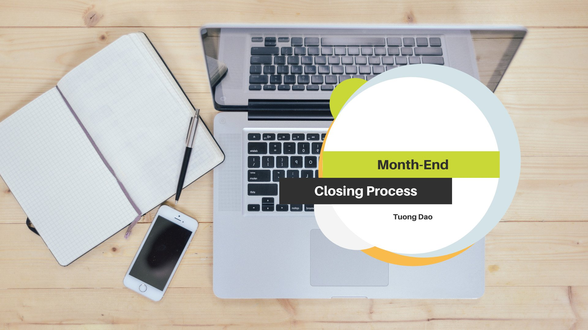 Month-End Closing Process in A Public Company
