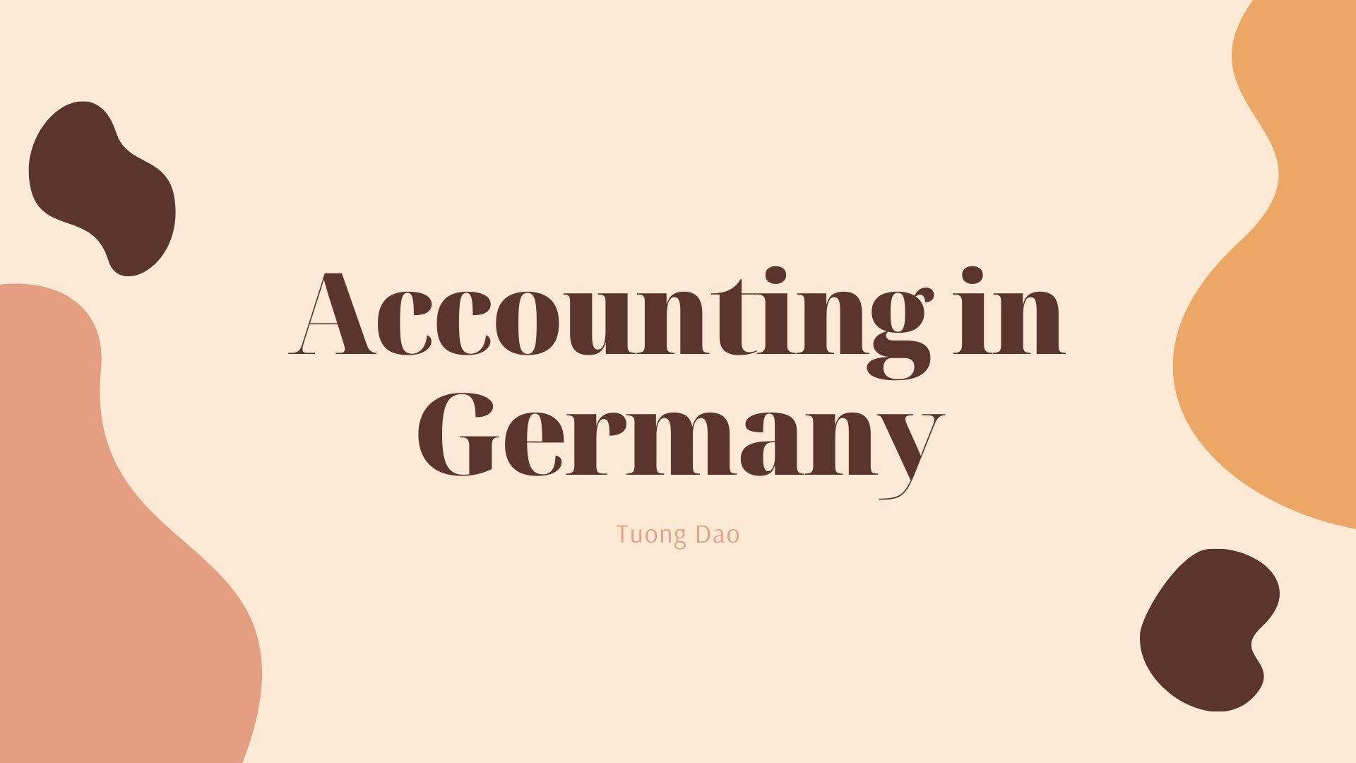 Accounting in Germany