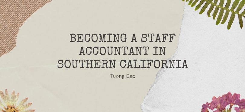 Becoming A Staff Accountant in Southern California