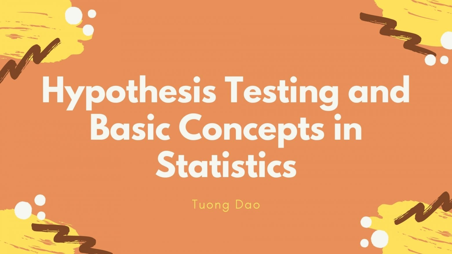 Hypothesis Testing and Basic Concepts in Statistics